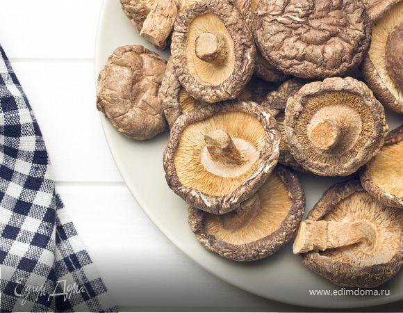 Китайский гриб шиитаке: еда как лекарство
