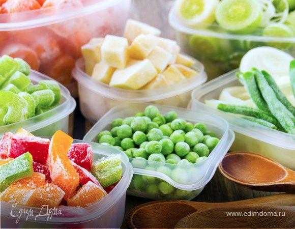 Правила приготовления блюд из замороженных продуктов
