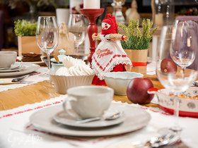 Мастер-класс: сервируем стол на Масленицу
