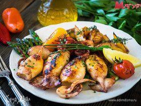 Морские хиты: готовим 5 популярных блюд из кальмаров
