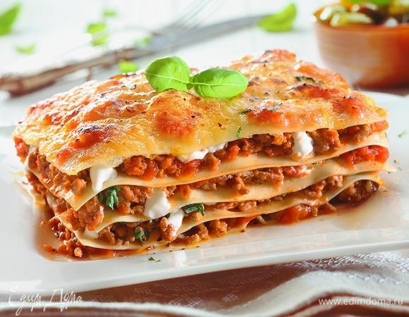 Вкусная классика: 10 рецептов лазаньи от «Едим Дома»