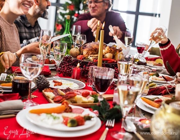 Праздник с размахом: готовим новогодний ужин для большой компании вместе с KENWOOD