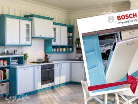 Мастерская кухонной мебели «Едим Дома!» дарит посудомоечную машину