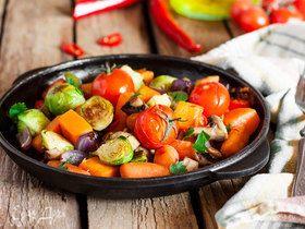 Летние радости: готовим вкусные и полезные овощи в духовке