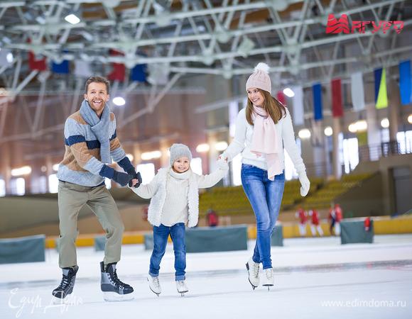 Первый раз на льду: как правильно кататься на коньках