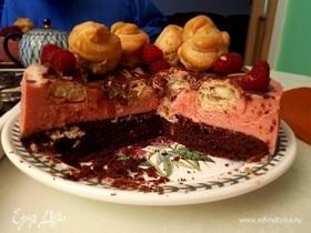 Мой первый авторский торт!