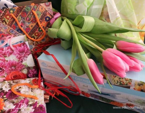 Благодарность компании Faberlic и команде «Едим Дома» за конкурсы и призы
