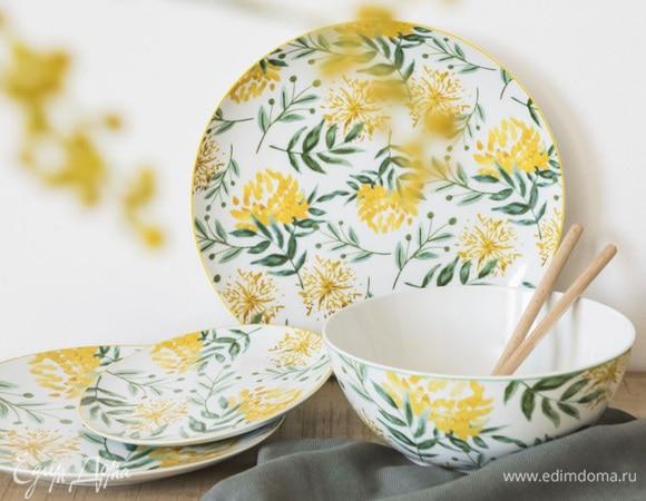 Фотоподборка от «Едим Дома»: посуда в весенних тонах