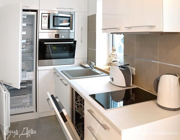 Эргономичный дизайн: идеи оформления маленькой кухни