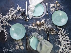 Мастер-класс: сервировка новогоднего стола в пастельных тонах
