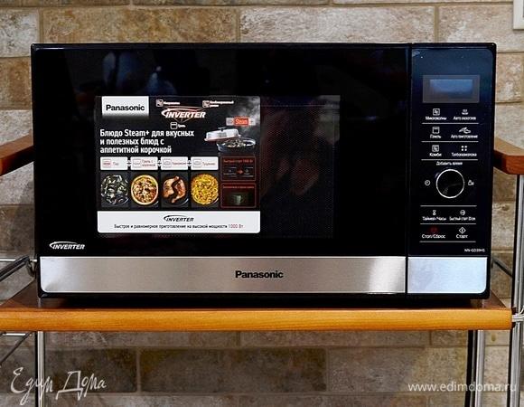 Жарю, парю, кашеварю с микроволновой печью Panasonic NN-GD39HS