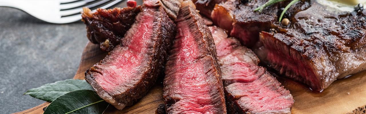 Какое мясо выбрать: стейк, антрекот, бифштекс и ромштекс