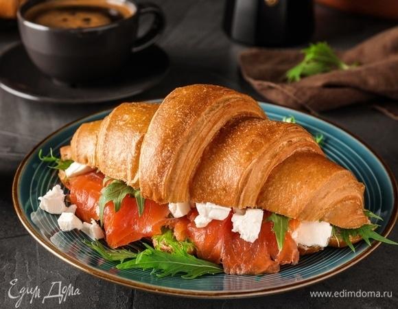 Кулинарные тренды: круассан-сэндвич
