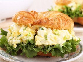 Завтрак с редакцией: сэндвич с яичным салатом