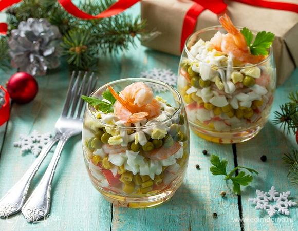 Быстрые блюда для новогоднего стола с рыбой и морепродуктами