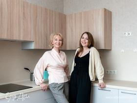 Кухня мечты для невероятной многодетной мамы