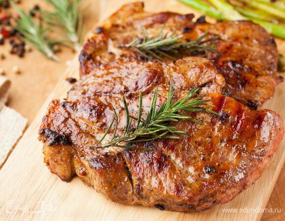 К барбекю готовы: рецепты маринования стейков из свинины