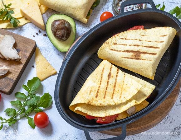 Тортилья на завтрак: 10 начинок для сытной лепешки