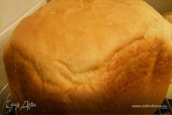 готовый хлеб.