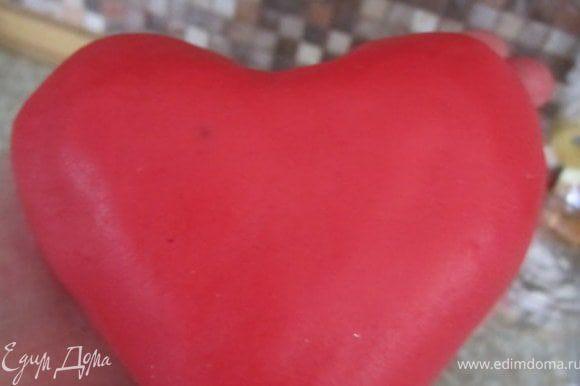 """вот такое сердце получилось с """"парадной"""" стороны;))"""
