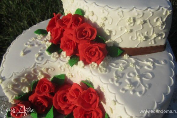 Торт готов.)