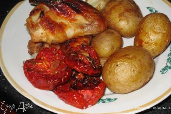 А это я примазываюсь к Валюшиной славе с ее помидорками http://www.edimdoma.ru/recipes/28017. Очень вкусно!