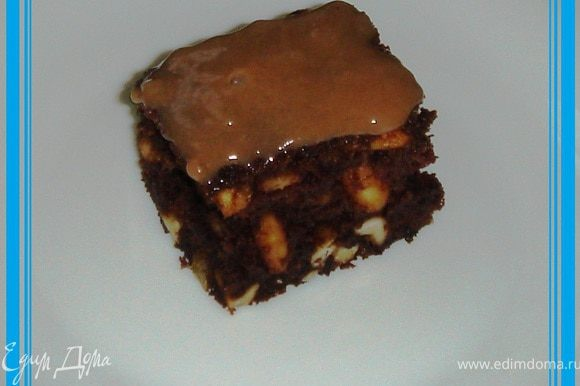 Пироженки получаются очень вкусными, богатыми орехами, с шоколадным и ванильным ароматом!!! Приятного аппетита!