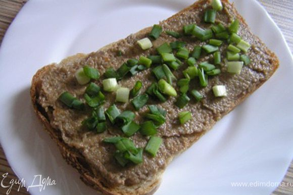 посыпать зеленью или рубленным луком. Приятного аппетита :)