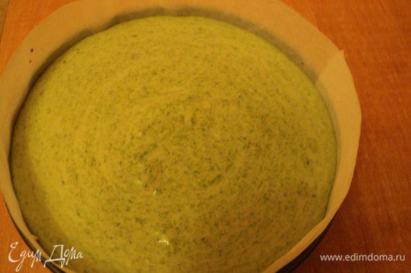 Суфле со шпинатом выложить на слой сливочного суфле, поставить в холодильник для застывания на 30 мин.