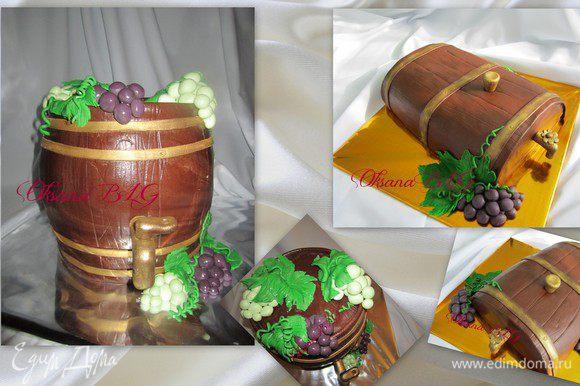 Берем тортик и идем в гости;))! Приятного вам аппетита.)!