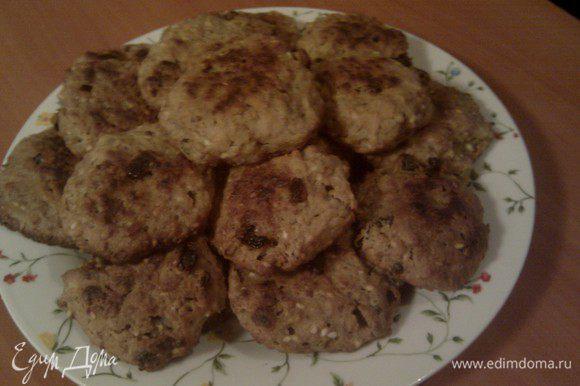 А вот какое печенье получилось из отжатых хлопьев с изюмом по рецепту Екатерины: мягкое, сытное, полезное!www.edimdoma.ru/recipes/38613(делала сразу двойную порцию)