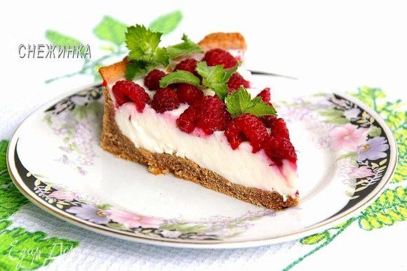 Ярким летним днём наслаждаемся ярким и лёгким десертом! Приятного аппетита!