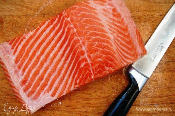 Удалить кости из рыбы...