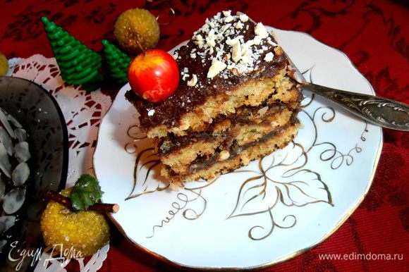 Торт совсем не тяжёлый по вкусу и приготовлению, всё получилось сочетаемо. Угощайтесь!!!