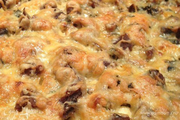 Вот так выглядит наше блюдо в готовом виде) Его можно подавать как с гарниром (рис) так и без.
