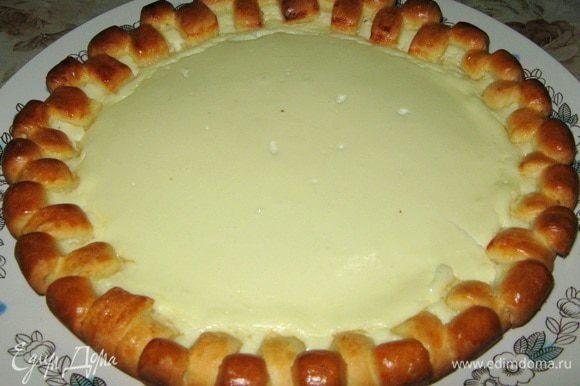 Ну вот и все пирог готов.)))