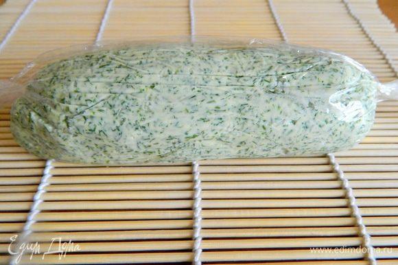 Формируем брусок… и в холодильник