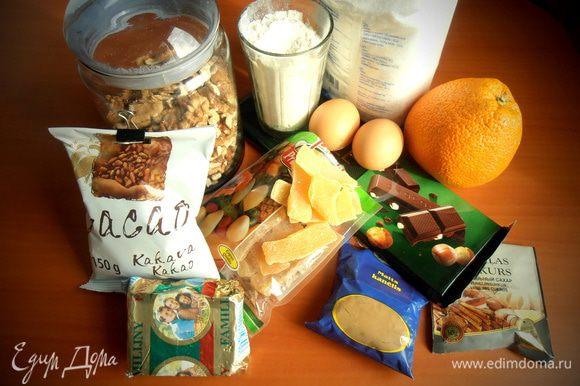 Продукты... По рецепту нужно добавить ещё было какао, но мне кажется, что и так вкус получился ароматный и богатый!