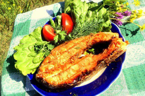 Подавать с овощами и зеленью. Приятного аппетита!
