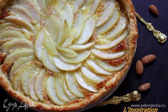 А еще на днях я делала миндальный тарт с грушами и розмарином от Лизы Пироговой!!Лизочка,спасибо большое,он очень вкусный!!! http://www.edimdoma.ru/retsepty/54979-mindalno-grushevyy-pirog-s-rozmarinom