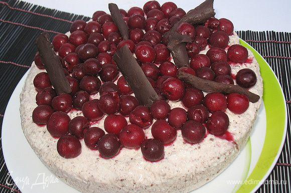 Вот такой тортик у меня получился.