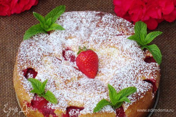 Остудить и посыпать сахарной пудрой. Приятного аппетита:)