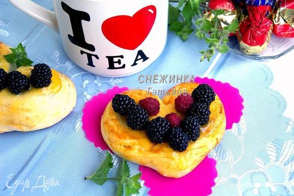 Завариваем чай и подаём, с любовью и нежностью!