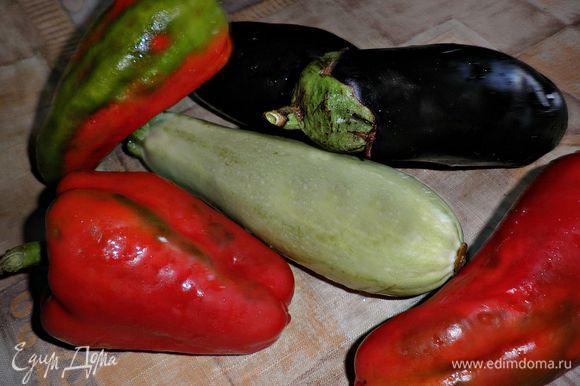 Подготовить и хорошо помыть овощи.
