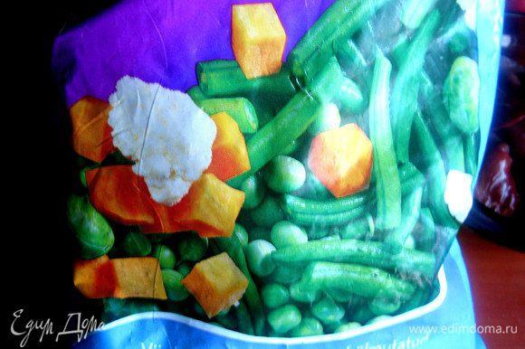 Всем советую иметь в запасе любимые замороженные овощи....это так удобно!