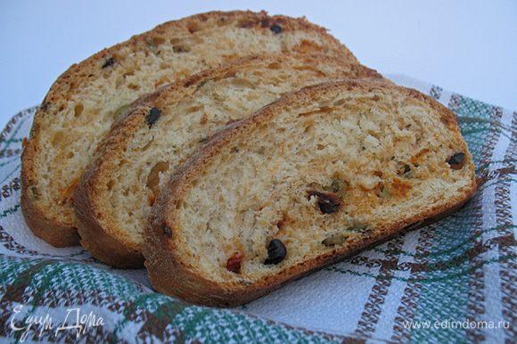 Приятного вам аппетита с ароматным и вкусным хлебом.