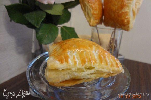 Готовым пирожкам дать немного остыть и можно кушать. Вкусно, полезно и хрустяще))))