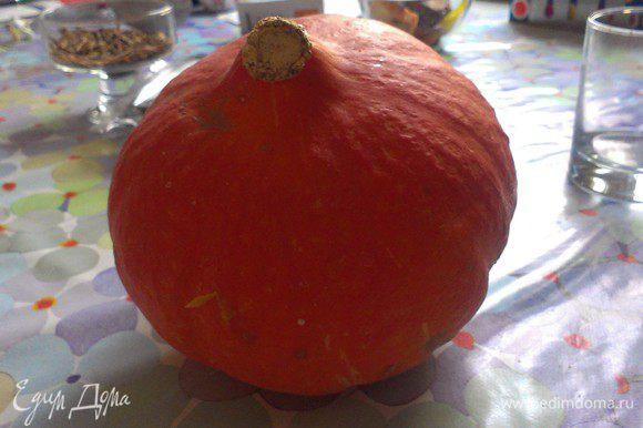 Почистить тыкву, морковь и картофель.