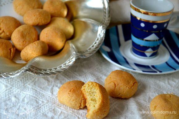 Очень вкусно с чашечкой кофе... ))) Правда, сложно остановиться! ))))