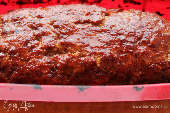 Запекать при температуре 180 градусов 40-45 минут. Подавать с зеленым салатом.